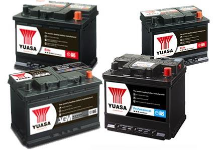 yuasa batterier